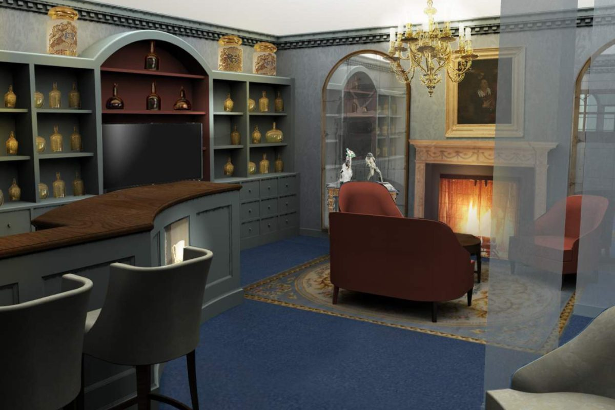 'The Shop' at Apothecaries' Hall nears completion