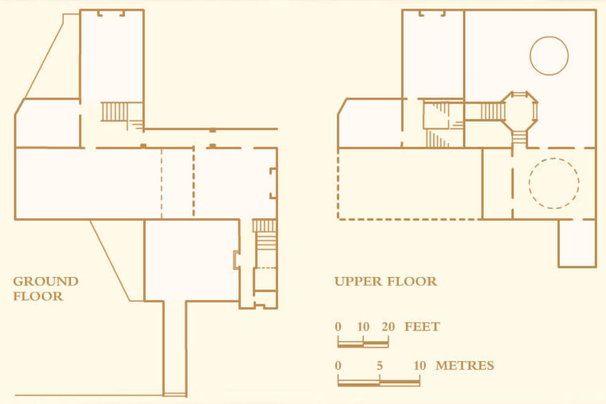 Old Court Room Floorplan